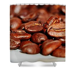 Coffee #6  Shower Curtain