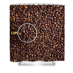 Coffee #7  Shower Curtain