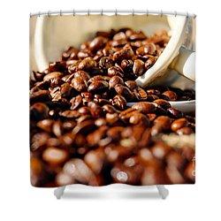 Coffee #8  Shower Curtain