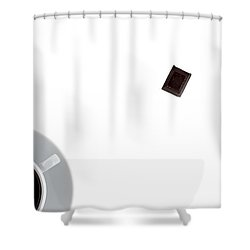 Shower Curtain featuring the photograph Coffee And Chocolade by Gert Lavsen