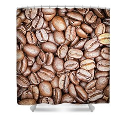 Coffee Beans Shower Curtain