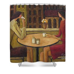 Coffee Break Shower Curtain