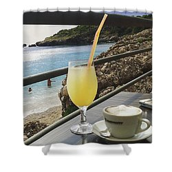 Perfect Breaktime Shower Curtain