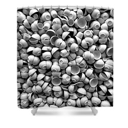 Coffee Please Shower Curtain by Dorin Adrian Berbier
