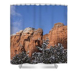 Coffee Pot Leads The Way Shower Curtain
