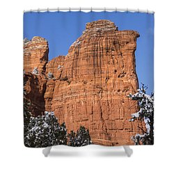 Coffee Pot Rock Shower Curtain
