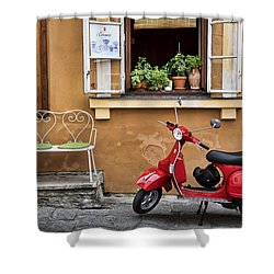 Coffee To Go Shower Curtain by James David Phenicie