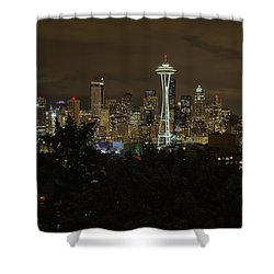 Coffee Town Shower Curtain