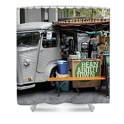 Coffee Truck Shower Curtain