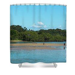 Coffs Creek  Shower Curtain