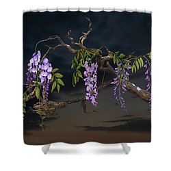 Cogan's Wisteria Tree Shower Curtain