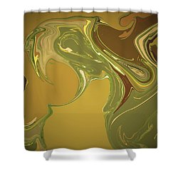 Cognac And Cigars Shower Curtain