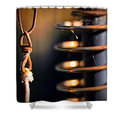 Coil Shower Curtain by Tim Nichols