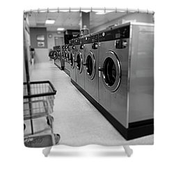 Coin Wash Shower Curtain