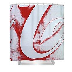 Coke 3 Shower Curtain