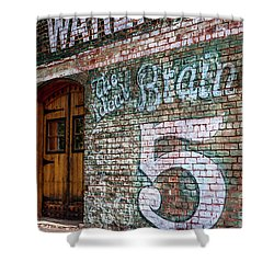 Coke And 5 Cent Cigars Shower Curtain