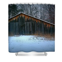 Cold Barn Shower Curtain