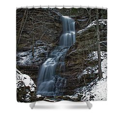 Cold Day At The Cathedral Shower Curtain