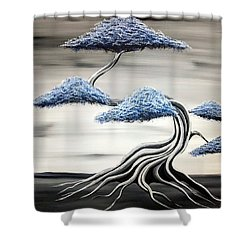 Cold Monday Shower Curtain