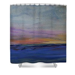 Cold Night Coming Soon Shower Curtain