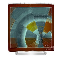 Cold Rays Shower Curtain