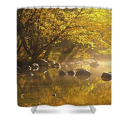 Cold River Shower Curtain
