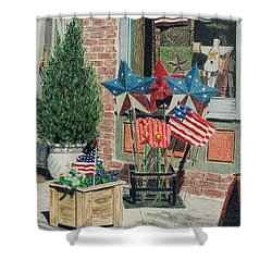 Cold Spring Window Left Shower Curtain