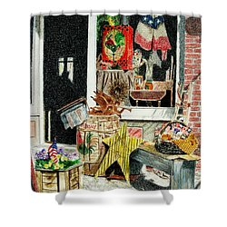 Cold Spring Window Right Shower Curtain