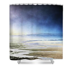 Cold Shower Curtain by Steven Huszar