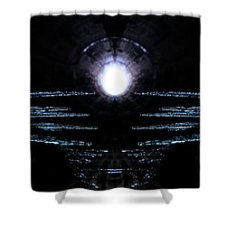 Cold Tunnel Shower Curtain