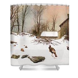 Cold Turkey Shower Curtain