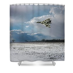 Shower Curtain featuring the photograph Cold War Warrior by Gary Eason