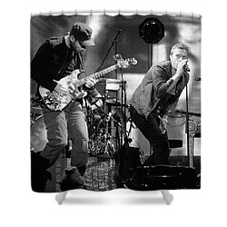 Coldplay 15 Shower Curtain by Rafa Rivas