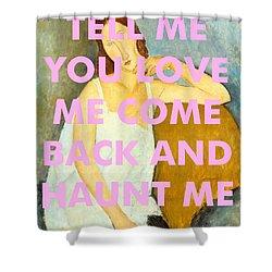 Coldplay Art Print                            Shower Curtain
