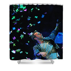 Coldplay1 Shower Curtain by Rafa Rivas