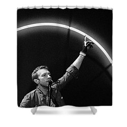 Coldplay10 Shower Curtain by Rafa Rivas