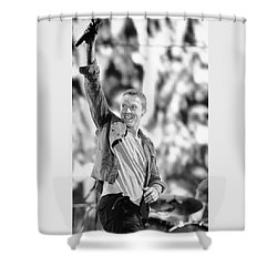 Coldplay13 Shower Curtain