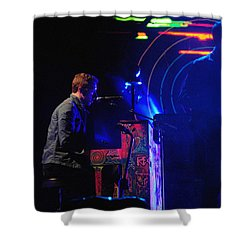 Coldplay2 Shower Curtain by Rafa Rivas