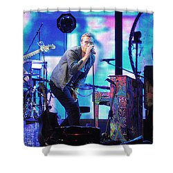 Coldplay7 Shower Curtain by Rafa Rivas