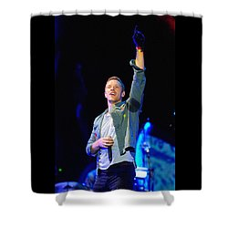 Coldplay8 Shower Curtain by Rafa Rivas