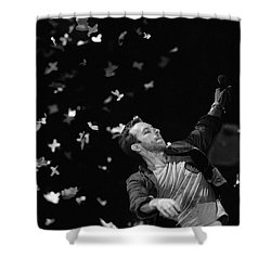 Coldplay9 Shower Curtain by Rafa Rivas