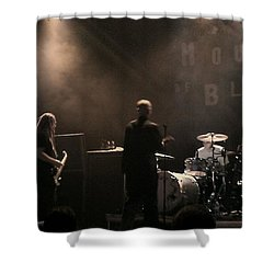 Cold's Back To The World Shower Curtain by Stephanie Haertling