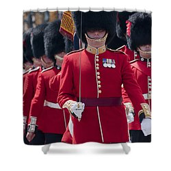 Coldstream Guards Shower Curtain
