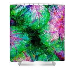 Shower Curtain featuring the photograph Coleus by Paul Wear
