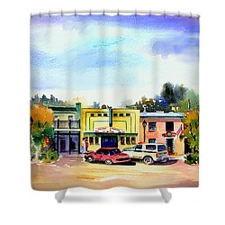 Colfax Main And Church Street Shower Curtain