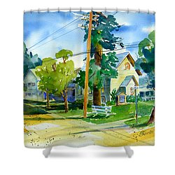 Colfax Methodist Church Shower Curtain