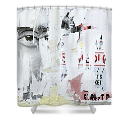 Street Collage 1 Shower Curtain by Colleen Williams