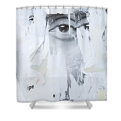 Street Collage 2 Shower Curtain by Colleen Williams