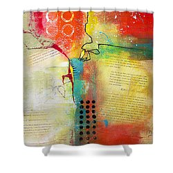 Collage Art 5 Shower Curtain