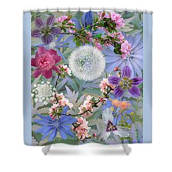 Collage One Shower Curtain by John Selmer Sr